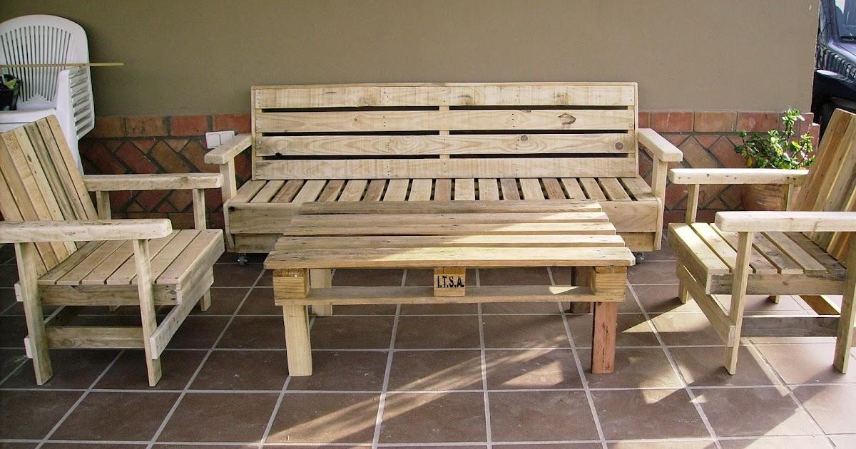 Artesanias labea muebles de exterior 100 reciclados - Tarimas de madera recicladas ...