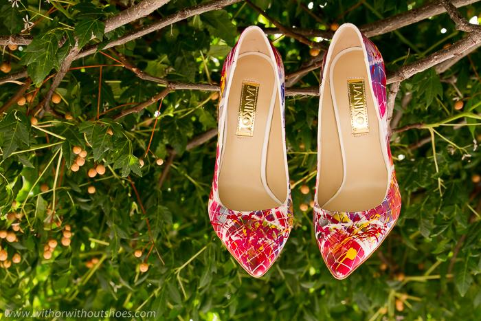 zapatos femeninos modernos y bonitos