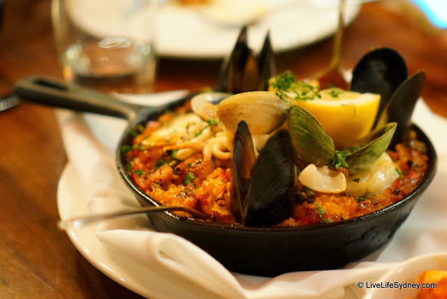 Subsolo Spanish Restaurant Paella Valencianna