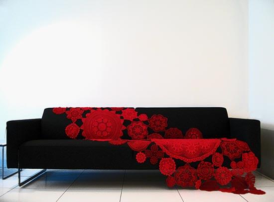 esculturas para decoracao de interiores : esculturas para decoracao de interiores:Gil: O crochet , esculturas, decoração de interiores, moda fashion