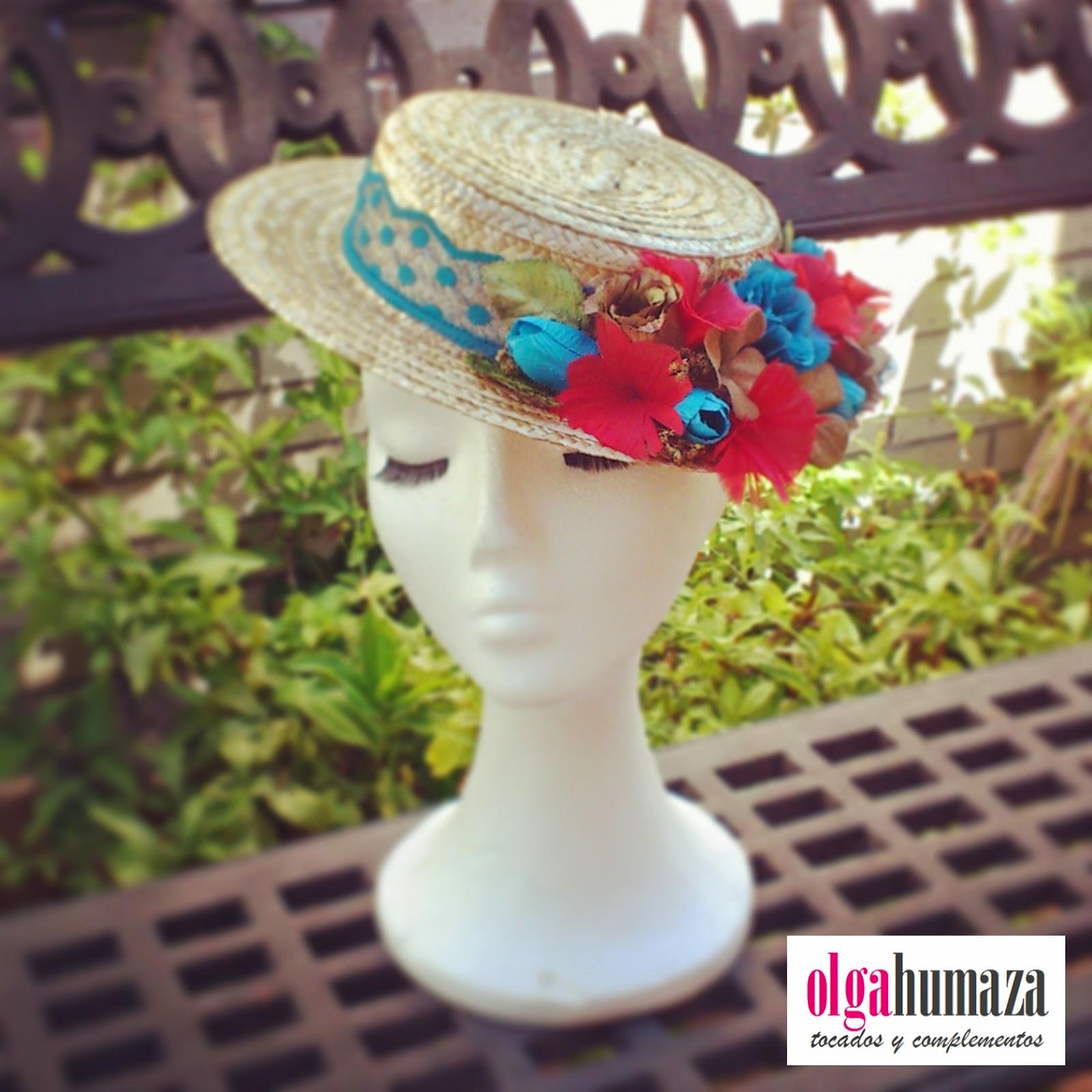 http://olgahumaza.blogspot.com.es/2014/06/b45-tocado-sombrero-mini-canotier-con.html