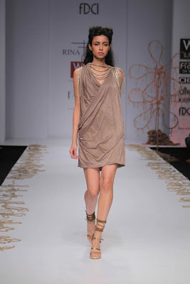 Rina Dhaka at Wills Lifestyle India Fashion Week - Spring Summer 2012 Day 1