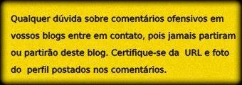 Aos Blogueiros: