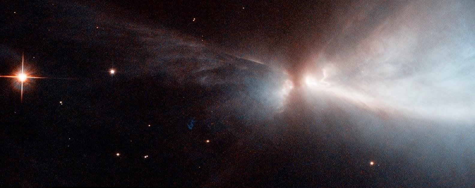 Молекулярное облако Хамелеон 1  в созвездии Хамелеон