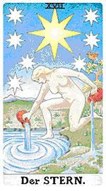Значение на Таро карта ХVII Звездата - хороскоп за 2015 година