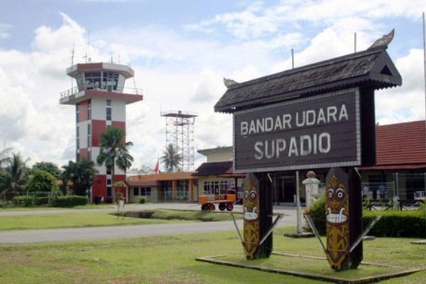 Bandar Udara Supadio Pontianak Kalimantan Barat