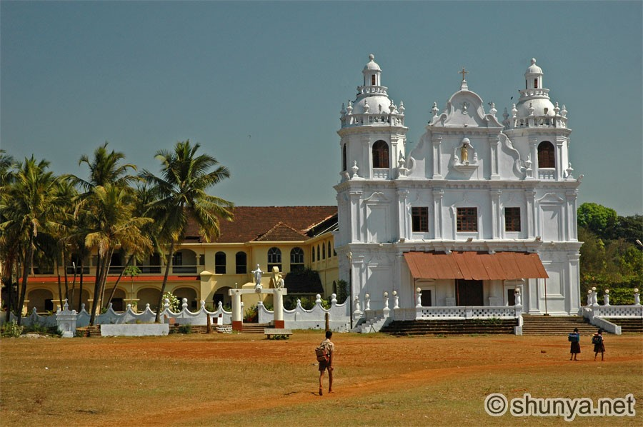 Famous Churches in Goa With Names The Famous Churches of Goa Are