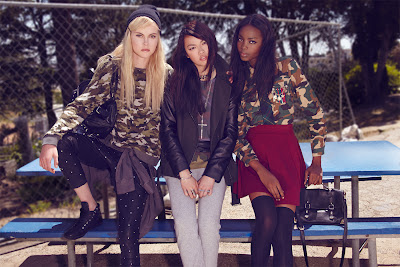 punk fashion, back to school fashion, forever 21 ad campaign, bad girls at school