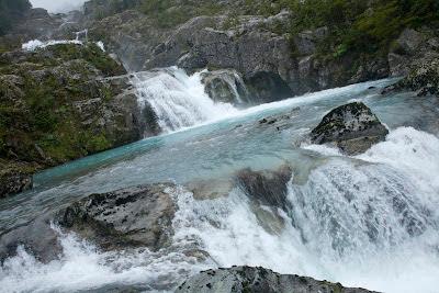 Foto de cascadas Rio Azul