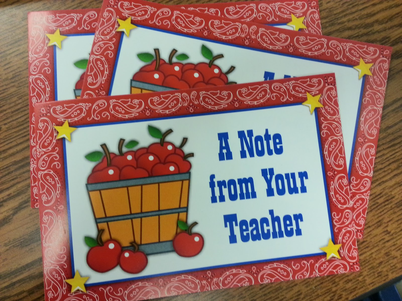 Montrose Paper Crafts Crafty Teacher Note Cards For Students