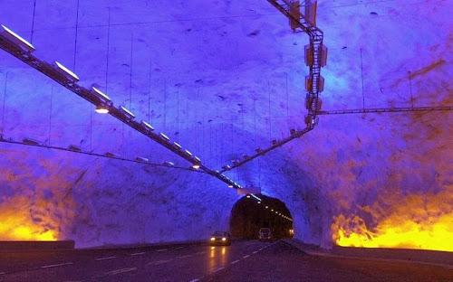 9 túneis que parecem coisa de outro mundo