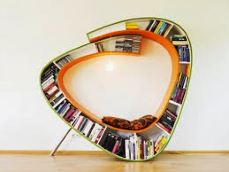 Creative design book shelve