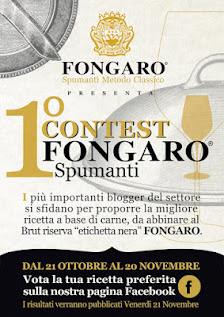 Ho Partecipato al 1° Contest Fongaro Spumanti