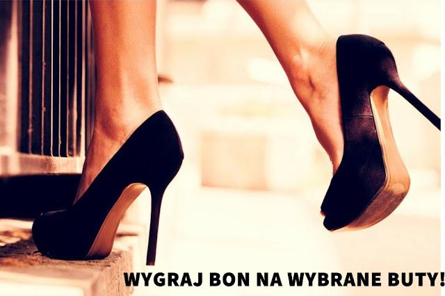 KONKURS na FB! Wygraj wybrane przez siebie buty:)