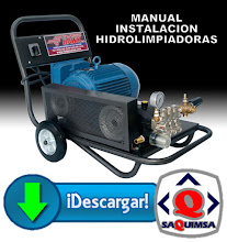DESCARGA MANUAL INTALACION DE HIDROLIMPIADORAS