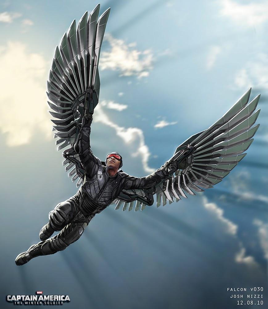 Quicksilver Avengers 2 Concept Art ... Action: Falcon Cos...