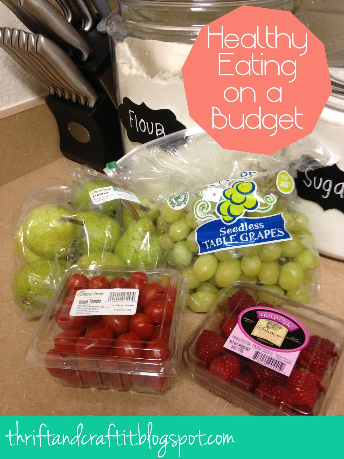 Thrift and craft it healthy eating on a budget eating healthy its the one thing i think everyone tries to do some are better than others at it we all have our excuses eating healthy is too expensive ccuart Choice Image