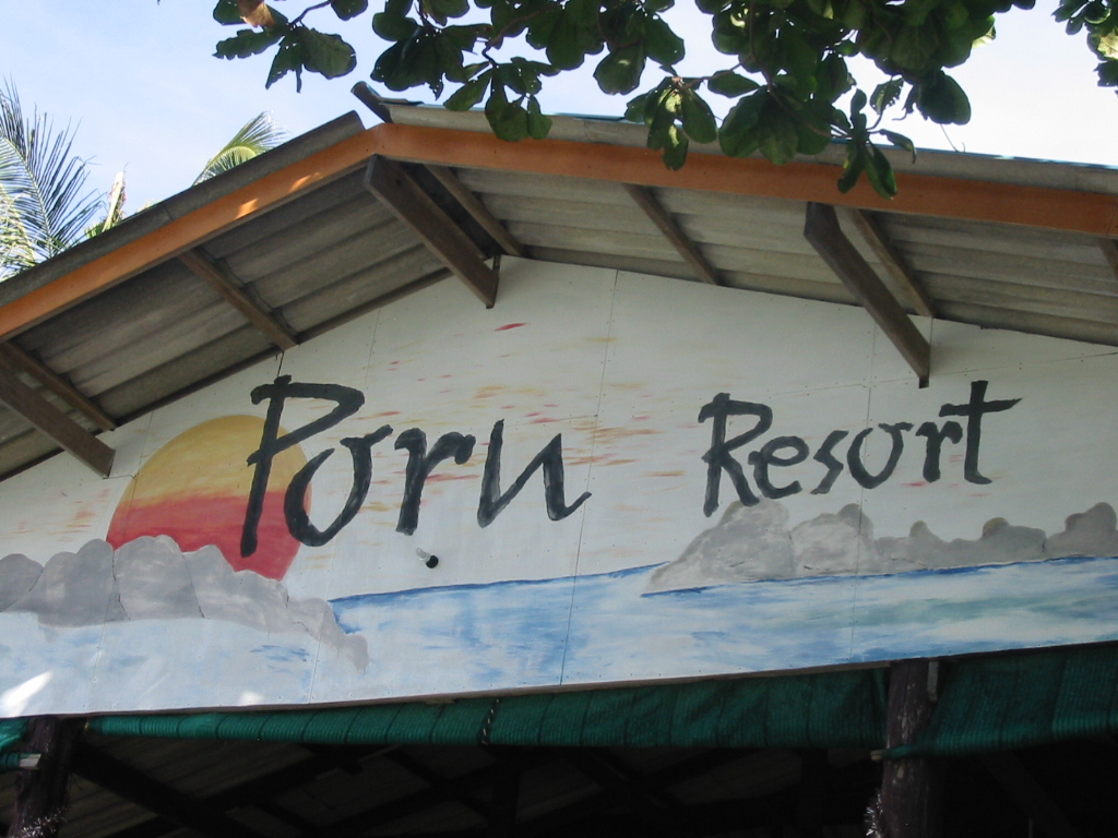 This is the Porn Resort, I'm not joking. Here is the sighn.