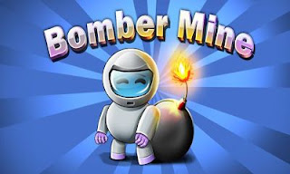 Screenshots of the Bomber Mine for Android tablet, phone.