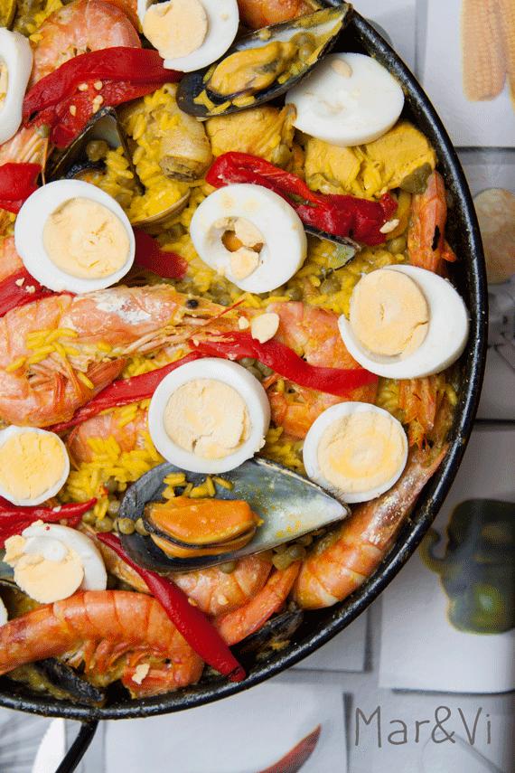 como preparar paella