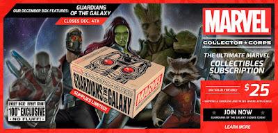 Marvel Collector Corps Diciembre