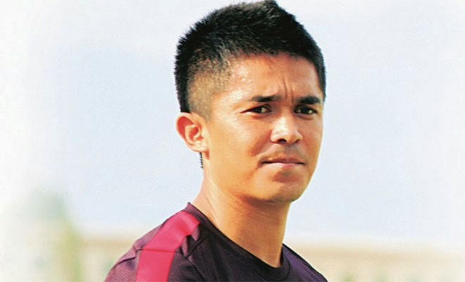Sunil Chhetri - AIFF 2014 Player of the year