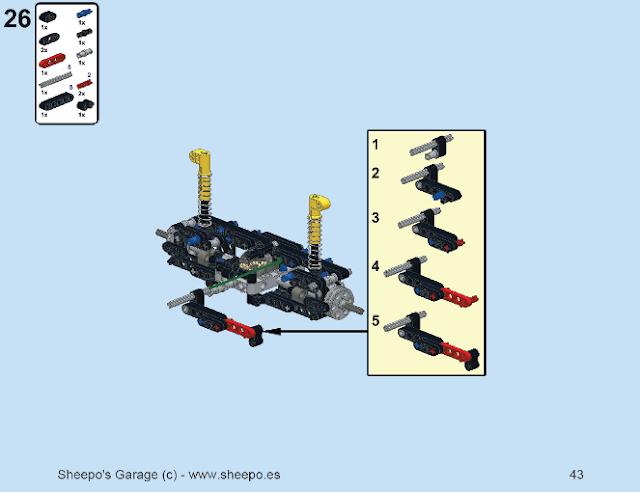 How do you build a lego robot