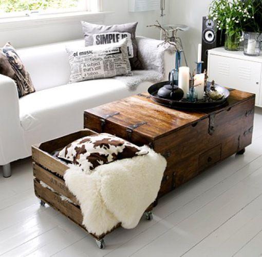 la fabrique d co caisses en bois et d co r cup 39 5 id es de rangement vintage. Black Bedroom Furniture Sets. Home Design Ideas