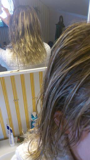 mandelolja i håret över natten