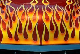 Comment peindre Flames
