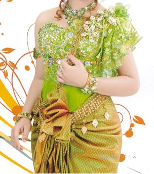 Dress dark fashion dress for women pink khmer wedding dress