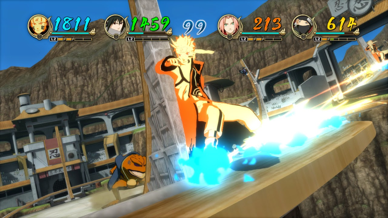 Stunning anime visuals and fluid 3d ninja fighting action come together once again for the largest and most explosive ultimate ninja storm game yet