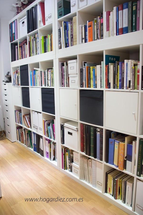 Ordenar libros en casa