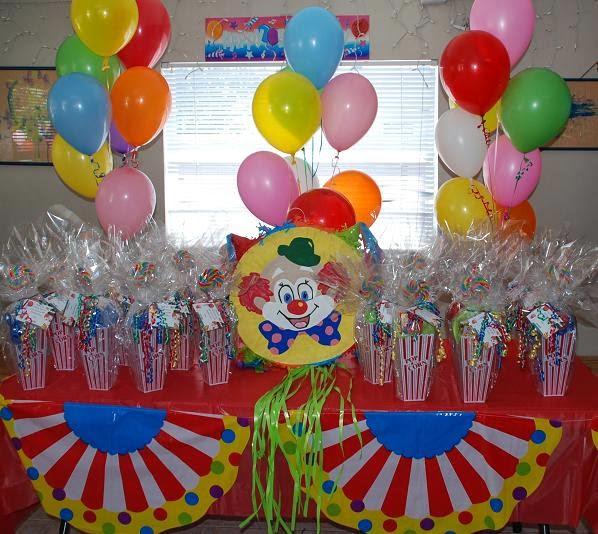 MuyAmeno.com: Decoracion de Fiestas Infantiles con Payasos, parte 1
