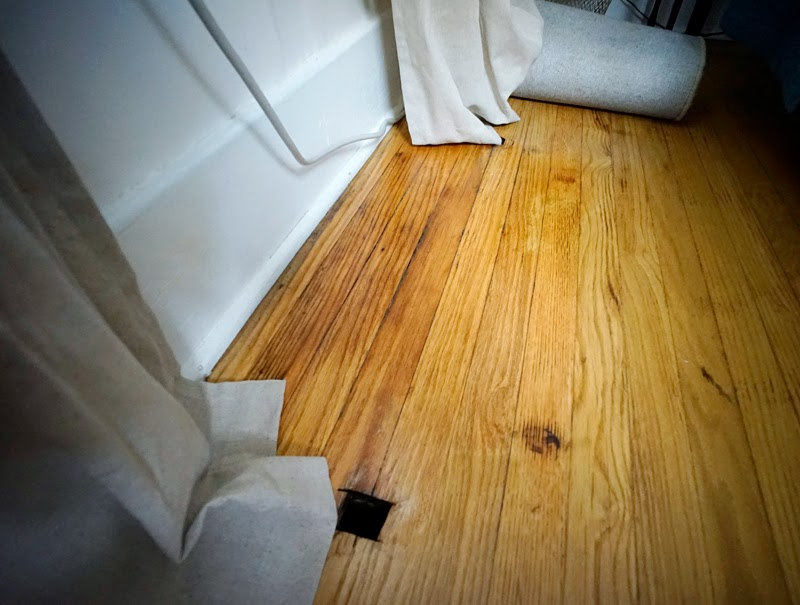Floor Stain Repair After