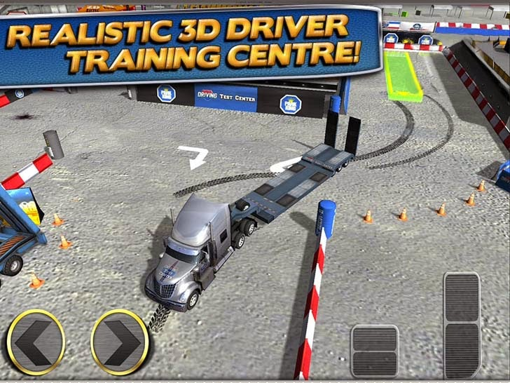 3D Trucker Parking Simulator Game - Real Fun Truck Driving Test Run Car Park Sim Addictive Racing Games Free App iTunes App By Play with Friends - FreeApps.ws