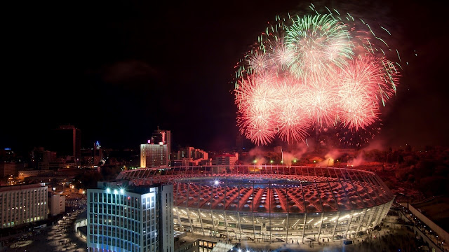 Olimpiyskiy National Sports Complex Kiev Ukraine EURO 2-12