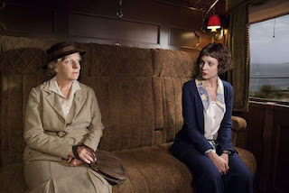 Miss Froy (SELINA CADELL), Iris Carr (TUPPENCE MIDDLETON) in The Lady Vanishes, BBC