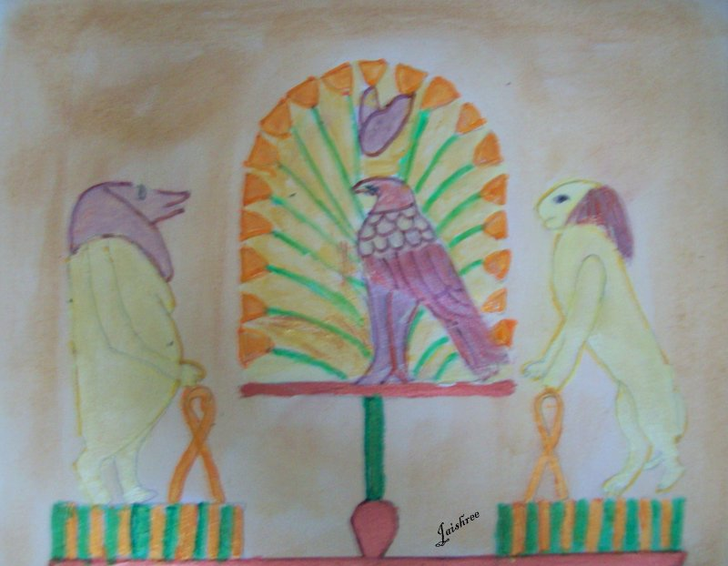 Egyptian Tomb Paintings Colors And Their Meanings