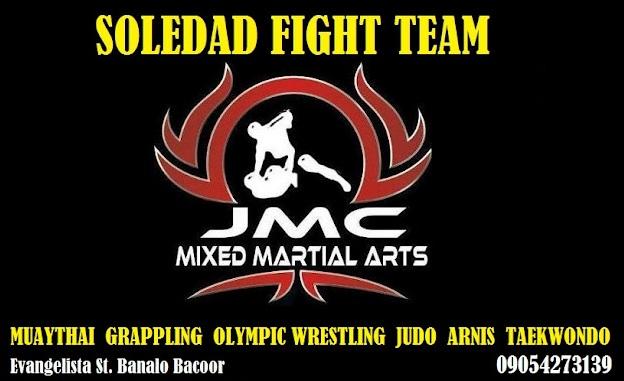 JMC MMA SOLEDAD FIGHT TEAM CAVITE