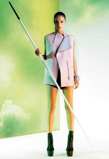 Hot Angela Jonsson Photo Shoot For Harper's Bazaar June 2012