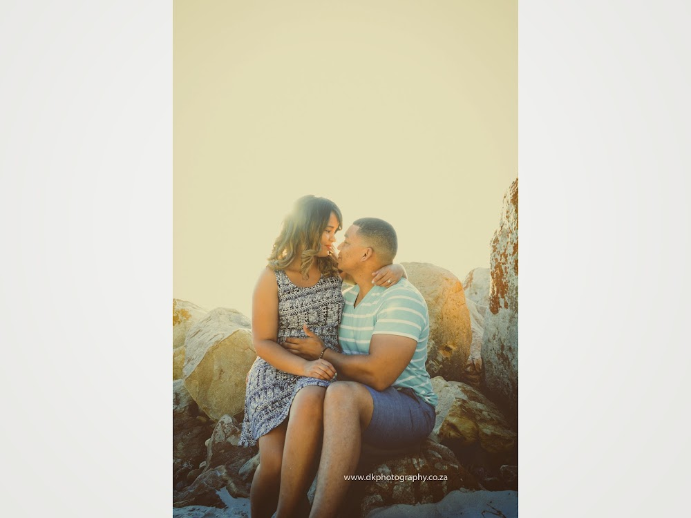 DK Photography LASTWEB-051 Robyn & Angelo's Engagement Shoot on Llandudno Beach { Windhoek to Cape Town }  Cape Town Wedding photographer