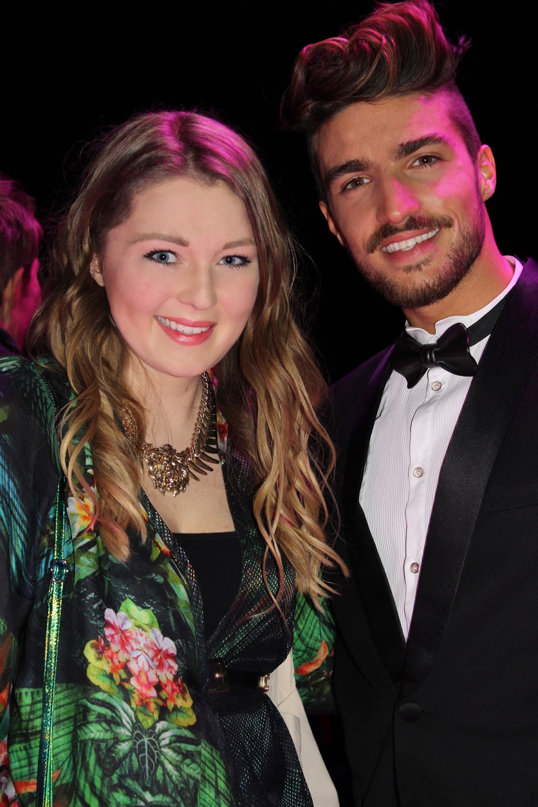 Mariano di vaio, stylight fashion blogger awards, 2014, berlin, after party, lion necklace, event, fashionweek