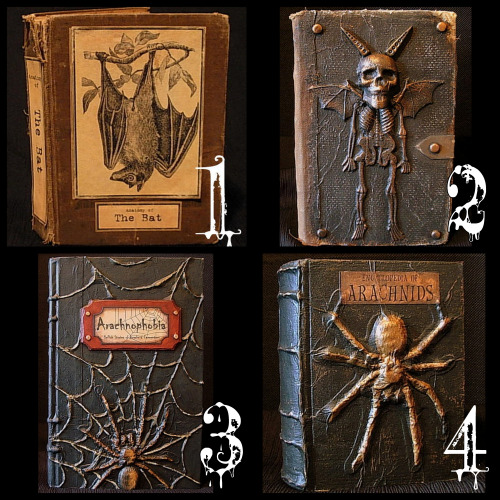 How To Make A Book Cover For Episode : Inspired by pinterest halloween spell books diy
