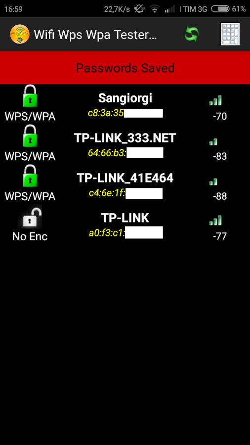 Wps Wpa Tester Premium (Türkçe ) APK İndir   Android Marketi