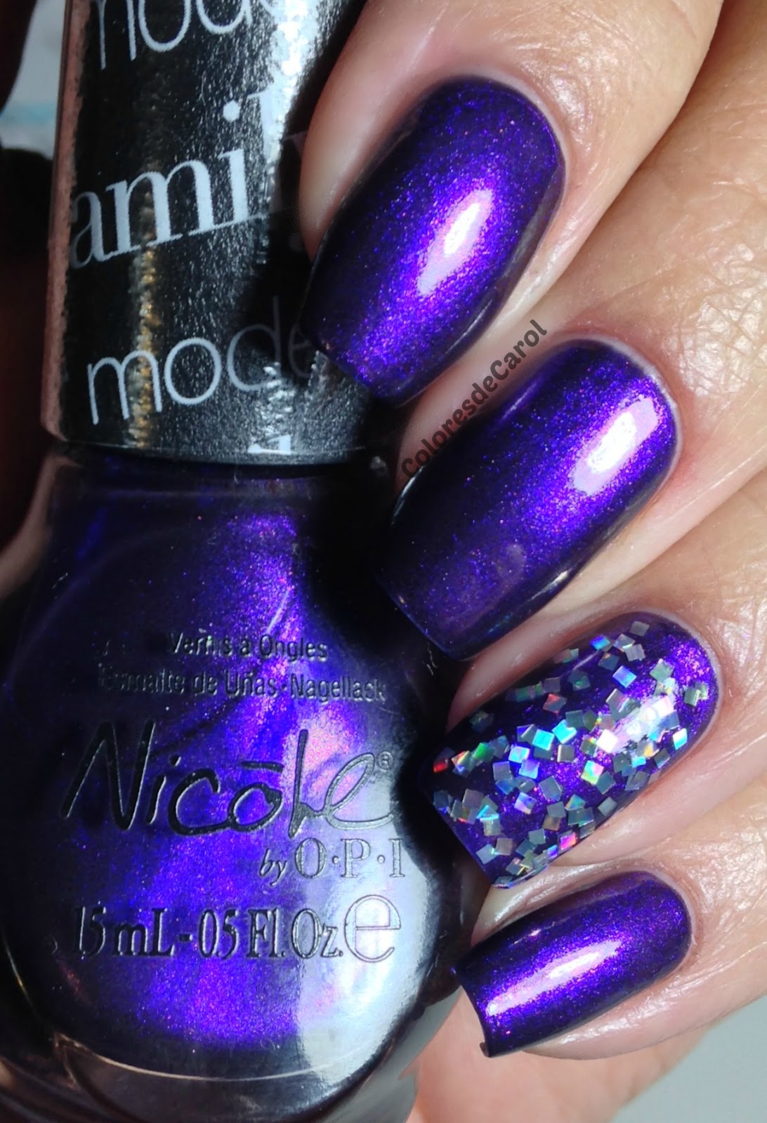 Colores de Carol: Nicole by OPI Modern Family Holiday Collection.