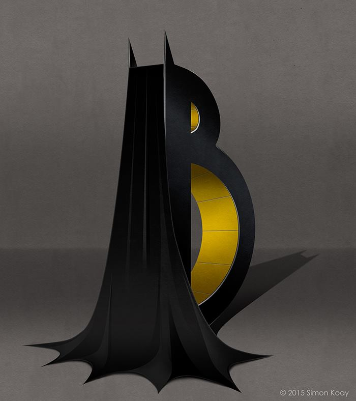B for Batman