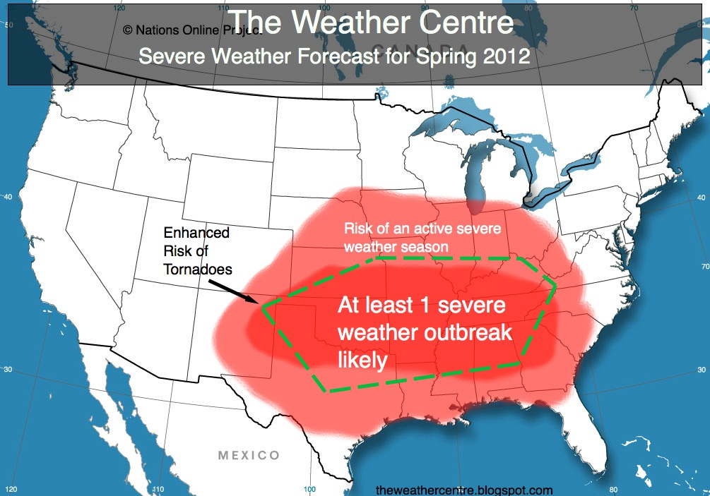 here s my forecast for the severe weather season