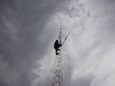 faltava a antena de vhf
