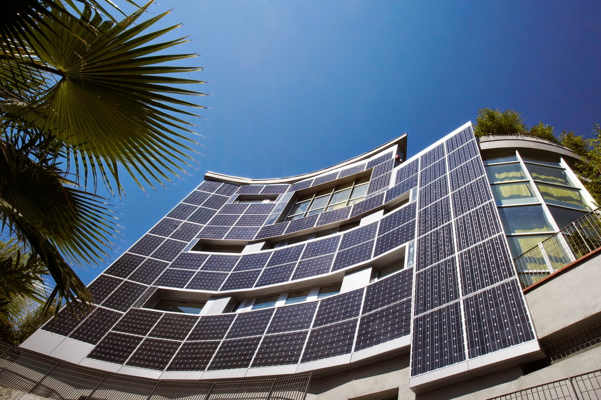 Up the green integracion fotovoltaica en edificacion Solar architect